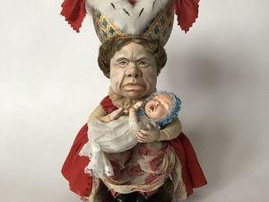 Герцогиня. Новая кукла по сказке про Алису-в-Стране-Чудес!. Ярмарка Мастеров - ручная работа, handmade.
