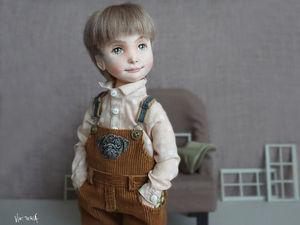 Фёдор, коллекционная текстильная кукла. Ярмарка Мастеров - ручная работа, handmade.