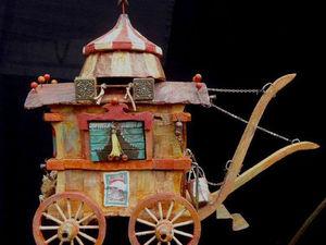 Путешествие по Вселенной. Сказочные прицепы Paskal Tirmant. Ярмарка Мастеров - ручная работа, handmade.