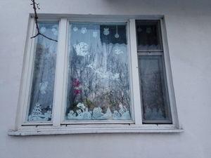Новинка!! Новогодний декор окна!. Ярмарка Мастеров - ручная работа, handmade.