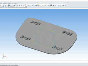 Совершенствуем модель лекала для печати из пластика: делаем надписи. Ярмарка Мастеров - ручная работа, handmade.