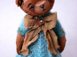 Тедди мишка Малу. Ярмарка Мастеров - ручная работа, handmade.
