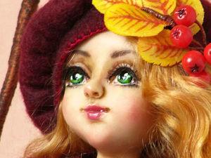 Новая Осенняя Фея Рябинушка!!!. Ярмарка Мастеров - ручная работа, handmade.
