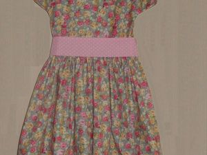 Шьем платье для девочки. Ярмарка Мастеров - ручная работа, handmade.