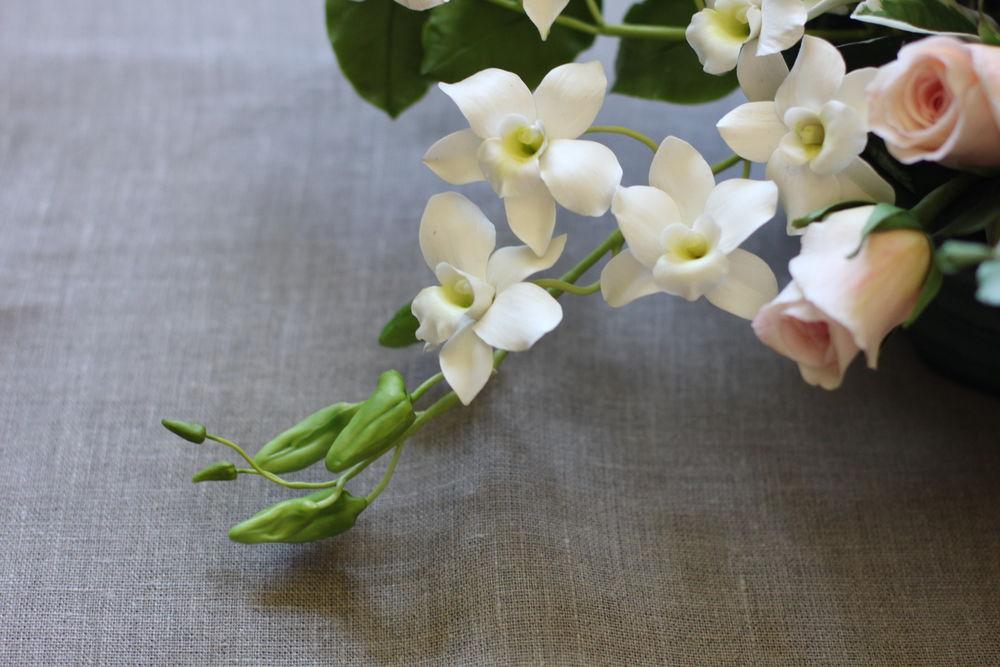 мастер-класс по лепке, цветы из полимерной глины, лепка цветов