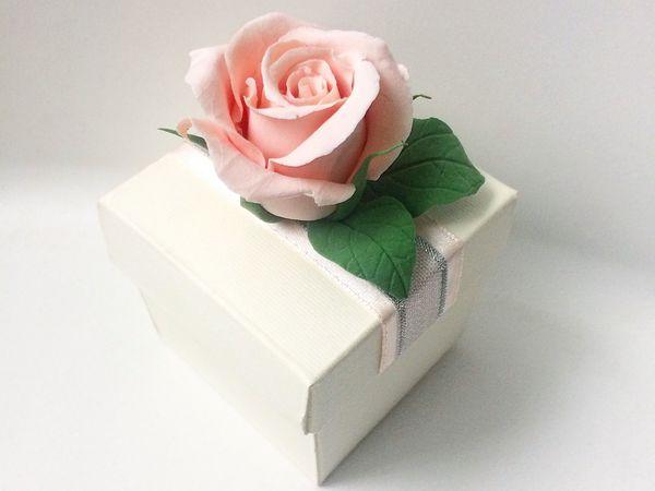 Мастер-класс по созданию Розы из полимерной глины | Ярмарка Мастеров - ручная работа, handmade