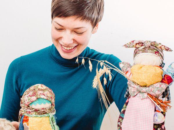 Славянская кукла Домовушка (Хозяюшка) мастер-класс | Ярмарка Мастеров - ручная работа, handmade