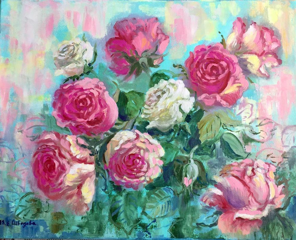 красивая картина, живопись в радость