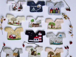 Вязаные свитерочки для гномов