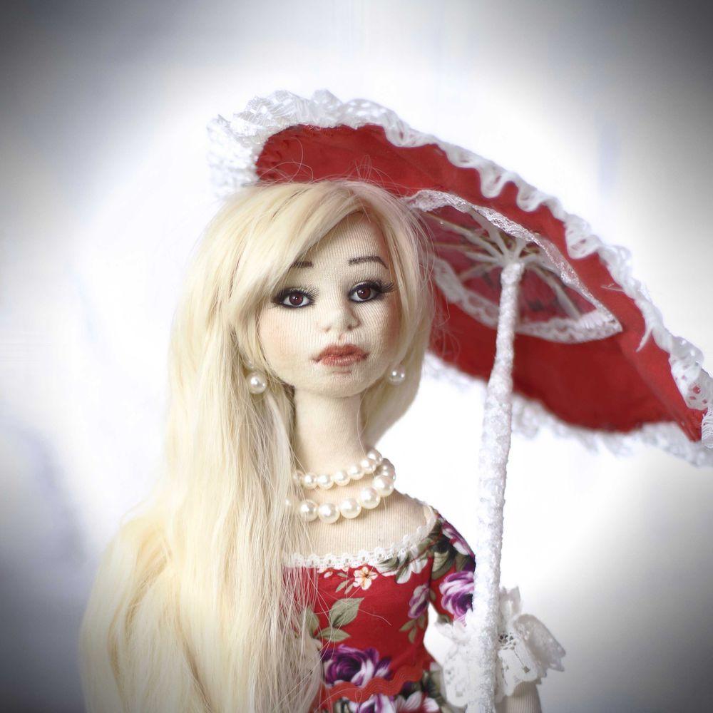 кукла ручной работы, кукла коллекционная