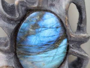 Режем дерево, а камни врастают сами (пост с картинками) :). Ярмарка Мастеров - ручная работа, handmade.