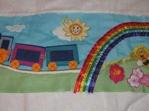В подарок малышу: делаем развивающий коврик-трансформер. Часть 4. Ярмарка Мастеров - ручная работа, handmade.