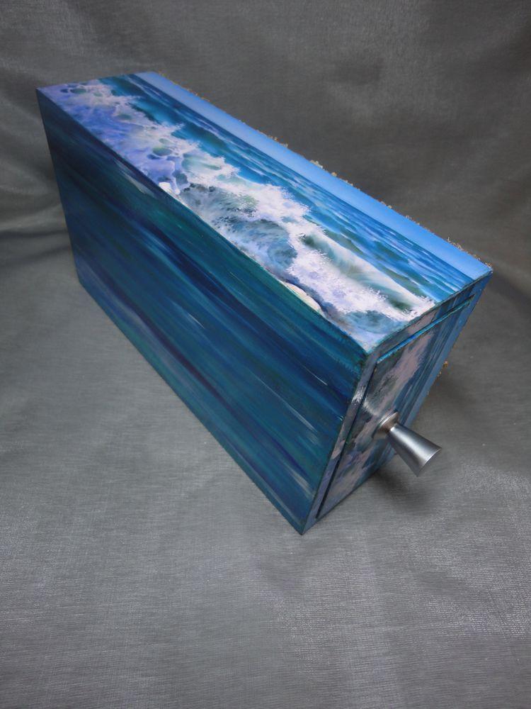 короб-пенал, синий цвет