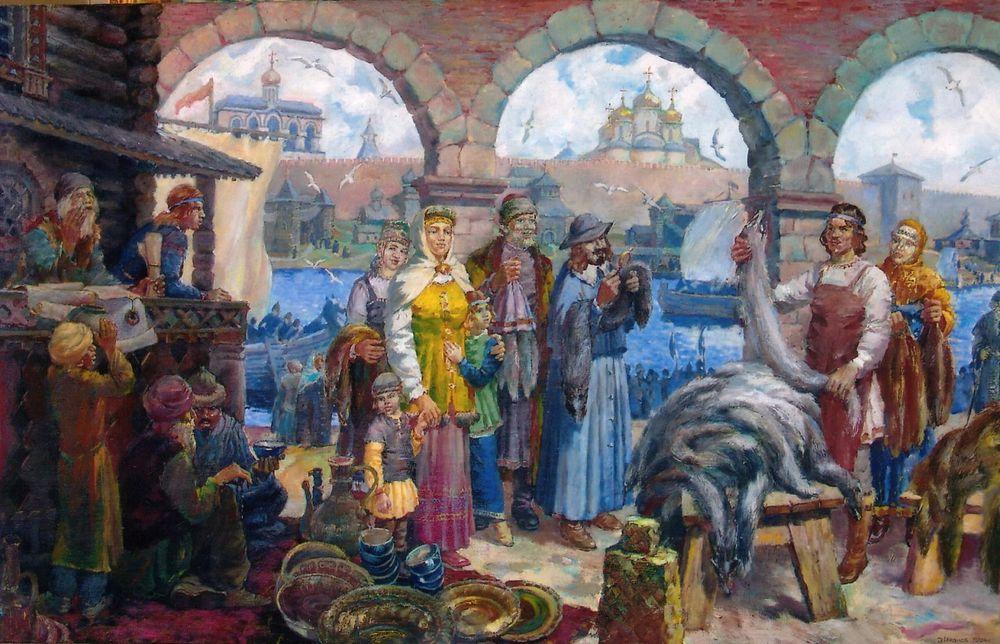 картинка новгородский торг стяжка может