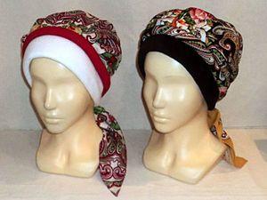 Теплые Повойники от  Светланы (шапочки). Ярмарка Мастеров - ручная работа, handmade.