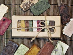 Набор из 11 кусочков чудесного натурального мыла. Ярмарка Мастеров - ручная работа, handmade.