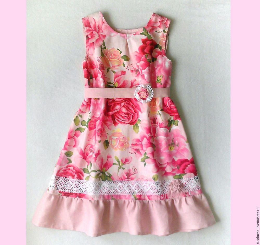 платье для девочки, платье весна, весна