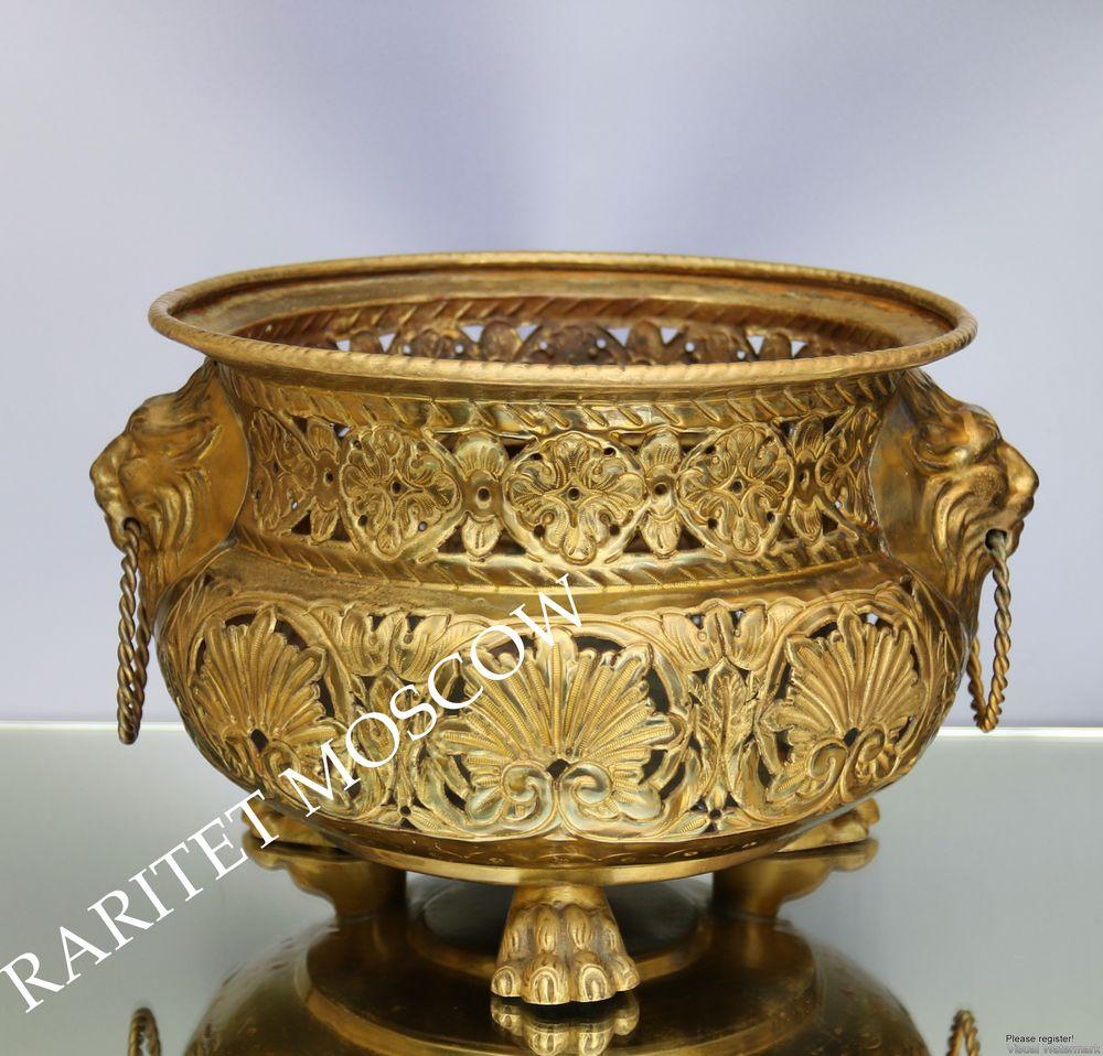 бронза, антикварная ваза