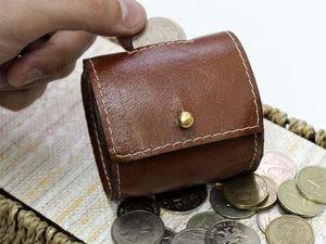Изготовление кожаной монетницы или чехла для наушников. Ярмарка Мастеров - ручная работа, handmade.