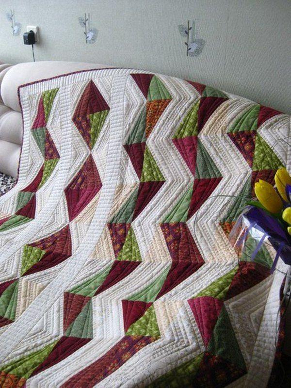 лоскутное одеяло, удачная покупка, ручная работа