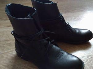 Обновляем ботиночки без особых вложений. Ярмарка Мастеров - ручная работа, handmade.