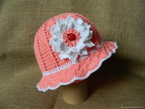Распродажа летних шапочек на девочек. Ярмарка Мастеров - ручная работа, handmade.