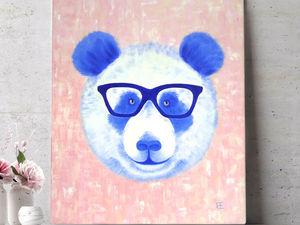 Новый панда! Встречайте!. Ярмарка Мастеров - ручная работа, handmade.