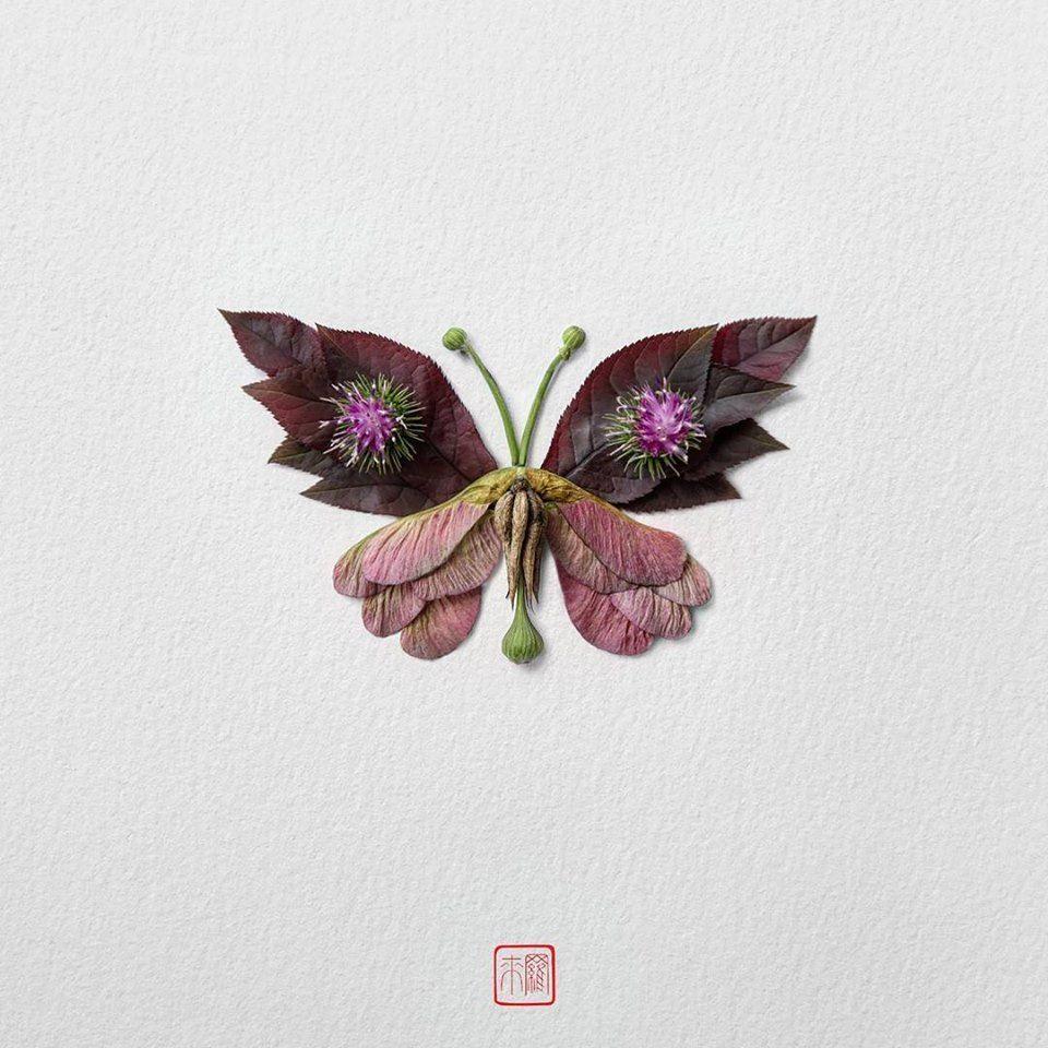 Petal Magic: Unusual Compositions by Raku Inoue, фото № 8