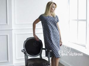 Авторское валяное платье «Париж». Ярмарка Мастеров - ручная работа, handmade.
