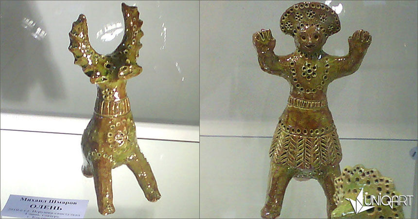 керамика ручной работы, скульптурная миниатюра, фигурка, прикладное искусство, народные традиции