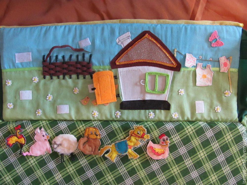 В подарок малышу: делаем развивающий коврик-трансформер. Часть 1, фото № 6