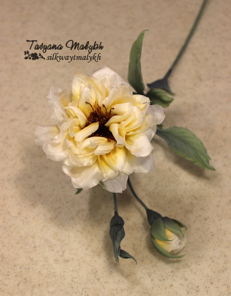 татьяна малых, цветы из ткани курсы