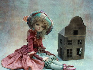 """"""" Петти"""" авторская кукла. Ярмарка Мастеров - ручная работа, handmade."""