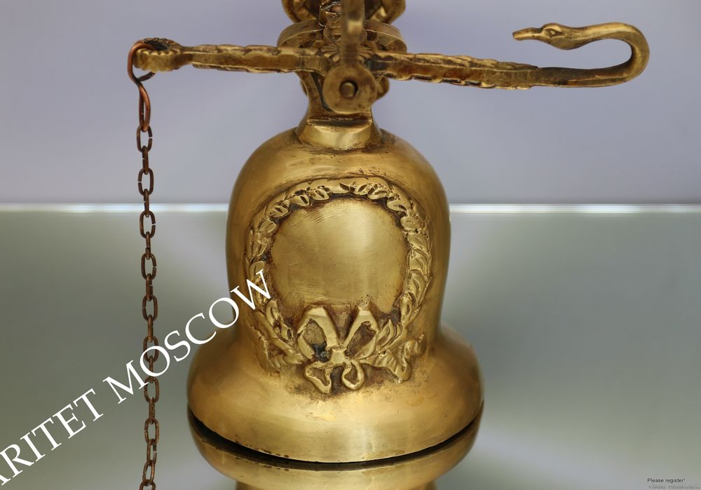 антикварный колокол