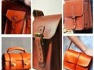 Мужские портфели из натуральной кожи ручной работы. Ярмарка Мастеров - ручная работа, handmade.