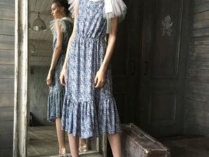 Видео.New collection.Платье для романтичных женщин.. Ярмарка Мастеров - ручная работа, handmade.