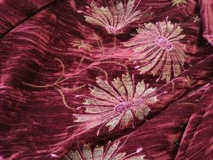 Анонс планируемой закупки шикарного шелкового бархата с вышивкой!. Ярмарка Мастеров - ручная работа, handmade.