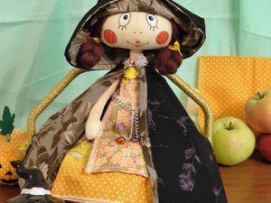 Видео мастер-класс: шьем осеннюю ведьмочку. Ярмарка Мастеров - ручная работа, handmade.