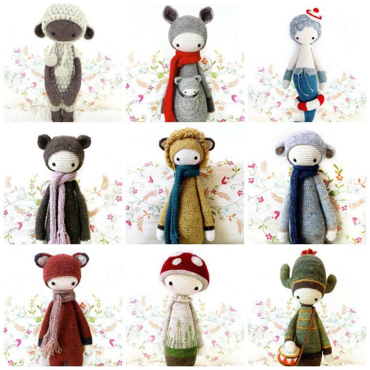 куклы в стиле lalylala, амигуруми крючком