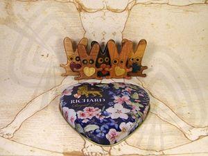 Деревянный зайчик в домашних условиях. Ярмарка Мастеров - ручная работа, handmade.