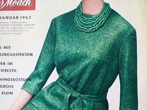 Neuer Schnitt — старый немецкий журнал мод 1/1962. Ярмарка Мастеров - ручная работа, handmade.