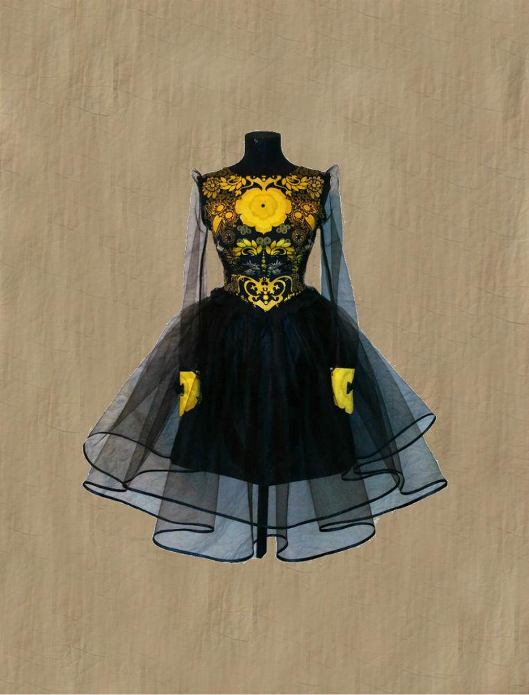 необычное платье, купить