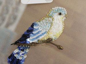 Новая птичка в деталях. Ярмарка Мастеров - ручная работа, handmade.