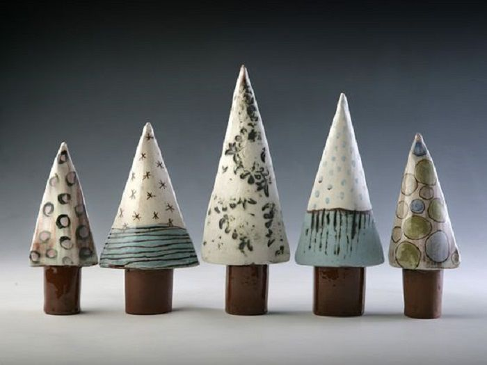 керамическая елка