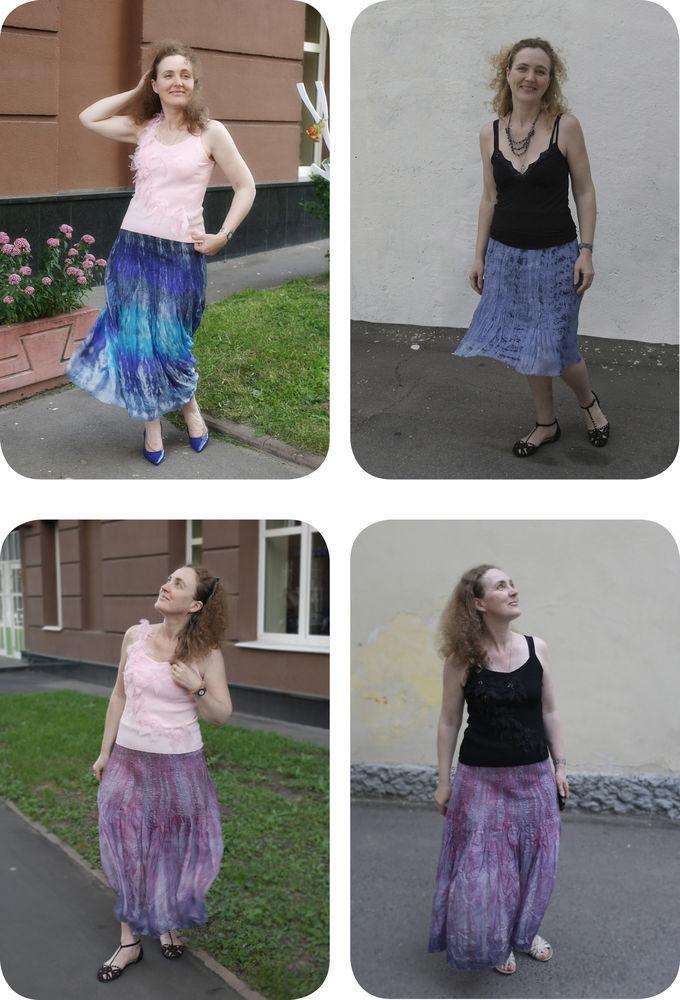 легкий войлок, юбка, наталья сафонова