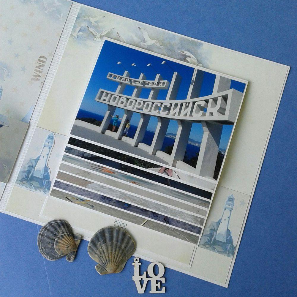 Фотоальбом с обложкой-шейкером и фотографиями каскадом, фото № 2