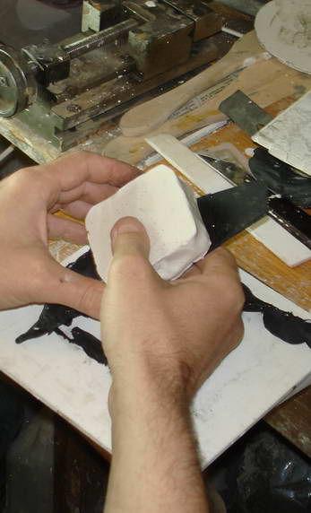 Как сделать гипсовую форму для изготовления однотипных изделий., фото № 13