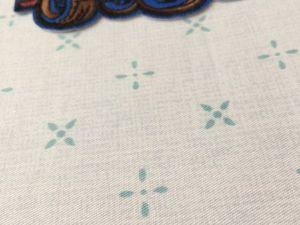 Распродажа Сатин Мелкий крестик меланж на серо-голубом по 238 р/1 м до 22.06.18. Ярмарка Мастеров - ручная работа, handmade.