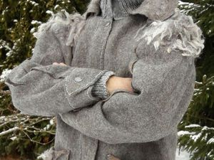 Зимний войлок | Ярмарка Мастеров - ручная работа, handmade