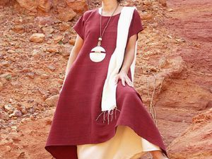 Немного солнца и мечты: одежда из льна и шелка от французских дизайнеров Cecile Guedj и Fabrice Broquerie | Ярмарка Мастеров - ручная работа, handmade